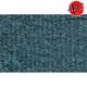 ZAICF00915-1983-91 Mitsubishi Montero Passenger Area Carpet 7766-Blue