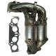 1AEEM00607-2001-03 Toyota Rav4 Exhaust Manifold with Catalytic Converter & Gasket Kit