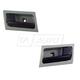 1ADHS00748-Interior Door Handle Pair Black Flint
