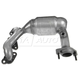 1AEEM00638-Exhaust Manifold with Catalytic Converter Assembly
