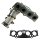 1AEEM00636-2002-06 Toyota Camry Solara Exhaust Manifold with Catalytic Converter Assembly
