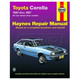 1AMNL00160-1980-87 Toyota Corolla Haynes Repair Manual