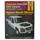 1AMNL00196-2004-10 Chevy Colorado GMC Canyon Haynes Repair Manual