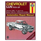 1AMNL00186-1972-82 Chevy LUV Pickup Haynes Repair Manual