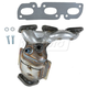 1AEEM00659-2000-01 Mazda MPV Exhaust Manifold with Catalytic Converter & Gasket Kit  Dorman 674-884