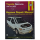 1AMNL00118-1998-02 Toyota Sienna Haynes Repair Manual