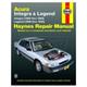 1AMNL00116-Acura Integra Legend Haynes Repair Manual