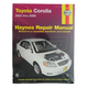 1AMNL00110-2003-05 Toyota Corolla Haynes Repair Manual