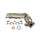 1AEEM00670-Exhaust Manifold with Catalytic Converter & Gasket Kit Driver Side