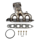 1AEEM00672-Exhaust Manifold with Catalytic Converter & Gasket Kit