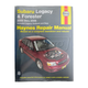 1AMNL00105-Subaru Haynes Repair Manual
