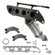 1AEEM00685-Ford Focus Exhaust Manifold with Catalytic Converter & Gasket Kit  Dorman 674-702