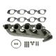 1AEEM00691-Exhaust Manifold & Gasket Kit