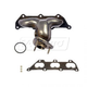 1AEEM00693-Cadillac CTS Exhaust Manifold & Gasket Kit Passenger Side