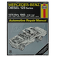 1AMNL00120-1976-85 Mercedes Benz 220D 240D 300D Haynes Repair Manual