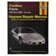1AMNL00156-1984-88 Pontiac Fiero Haynes Repair Manual