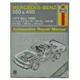 1AMNL00152-1971-80 Mercedes Benz Haynes Repair Manual
