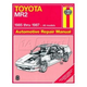 1AMNL00159-1985-87 Toyota MR2 Haynes Repair Manual