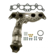 1AEEM00726-Toyota Camry Solara Exhaust Manifold with Catalytic Converter Assembly