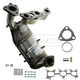 1AEEM00718-2001-02 Mercury Villager Nissan Quest Exhaust Manifold with Catalytic Converter Assembly