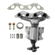 1AEEM00719-2001-05 Honda Civic Exhaust Manifold & Catalytic Converter (California State Approved)  Dorman 673-608