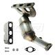 1AEEM00766-1999-00 BMW 528i 528iT Exhaust Manifold with Catalytic Converter & Gasket Kit Rear  Dorman 674-976