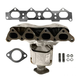 1AEEM00763-Hyundai Tucson Kia Sportage Exhaust Manifold with Catalytic Converter Assembly  Dorman 674-980