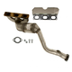 1AEEM00760-BMW Exhaust Manifold with Catalytic Converter Assembly