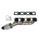 1AEEM00754-Exhaust Manifold with Catalytic Converter & Gasket Kit Driver Side Dorman 674-844