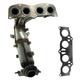 1AEEM00741-Scion tC Toyota Rav4 Exhaust Manifold with Catalytic Converter Assembly