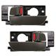 1ADHS00633-2006-11 Hyundai Accent Interior Door Handle Pair