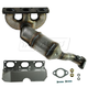 1AEEM00733-BMW 525i 530i X5 Exhaust Manifold with Catalytic Converter & Gasket Kit Rear