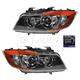 HELHP00001-BMW Headlight Pair Hella 354688051  354688061