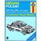1AMNL00230-1983-86 Nissan Pulsar Haynes Repair Manual