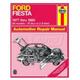 1AMNL00238-1977-80 Ford Fiesta Haynes Repair Manual