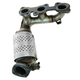 1AEEM00790-Lexus ES300 Toyota Camry Exhaust Manifold with Catalytic Converter Assembly