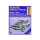 1AMNL00211-1980-82 Toyota Corolla Tercel Haynes Repair Manual