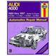 1AMNL00212-1980-87 Audi 4000 Haynes Repair Manual