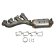 1AEEM00776-Cadillac SRX STS Exhaust Manifold with Catalytic Converter & Gasket Kit