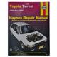 1AMNL00276-1987-94 Toyota Tercel Haynes Repair Manual