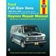 1AMNL00261-1969-91 Ford Haynes Repair Manual