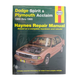 1AMNL00263-1989-95 Dodge Spirit Plymouth Acclaim Haynes Repair Manual