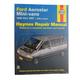 1AMNL00253-1986-97 Ford Aerostar Haynes Repair Manual