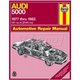 1AMNL00240-1977-83 Audi 5000 Haynes Repair Manual
