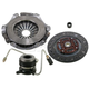 1ATCK00126-Jeep Clutch Kit with Slave Cylinder EXEDY 01033