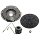 1ATCK00122-1993 Jeep Clutch Kit with Slave Cylinder EXEDY 01037