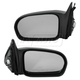 1AMRP00097-2001-05 Honda Civic Mirror Pair Black