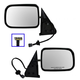 1AMRP00021-1994-97 Dodge Mirror Pair