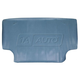 1AMAT00267-1965-66 Pontiac Rubber Trunk Mat in Gator Pattern