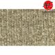 ZAICF01164-2007-15 Lincoln MKX Passenger Area Carpet 1251-Almond